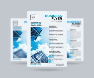 Modern Business Freebie Flyer Template (PSD)