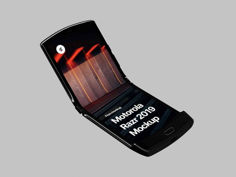 Motorola Razr Free Mockup