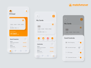 Neumorphic Credit Cards Free UI Kit