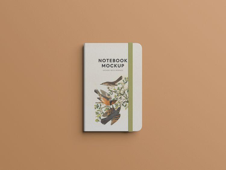 Notebook - Minimal Free Mockup