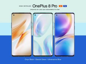 OnePlus 8 Pro Free Mockup