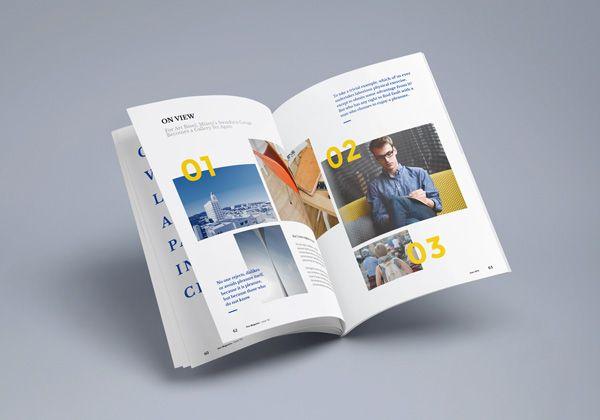 Open Photorealistic Magazine Mockup (PSD)