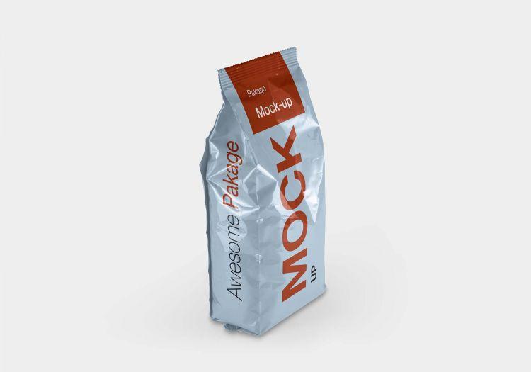 Pet Food Packaging Box Free Mockup