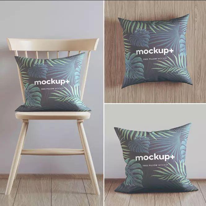 Pillow Mockup Set Freebie (PSD)