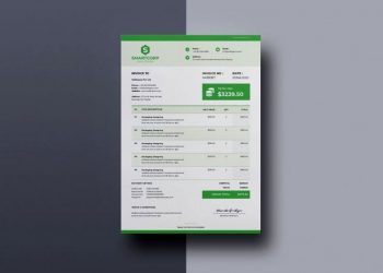 Professional Invoice Free Template