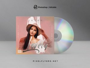 Pure RnB Free Mixtape CD Cover Template (PSD)