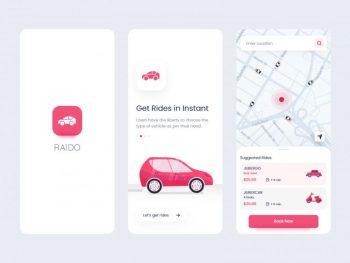 Raido - Ride Sharing App Free XD