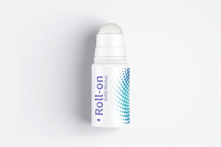 Roll-On Bottle Free Mockup