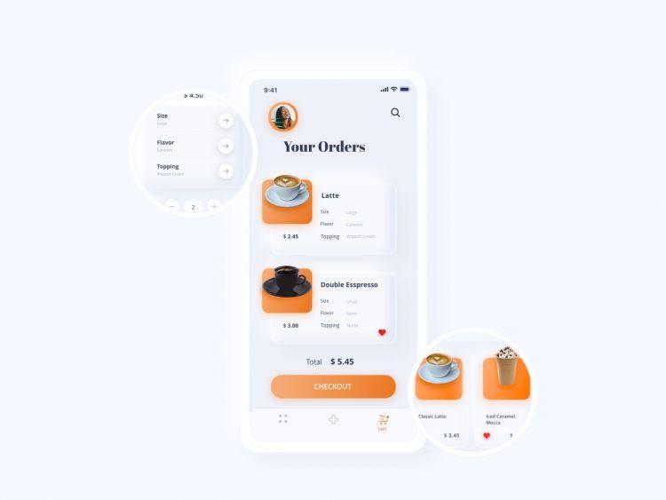 Soft App Neumorphic Free UI Kit