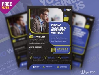 Success Business Ad Free Flyer Template (PSD)