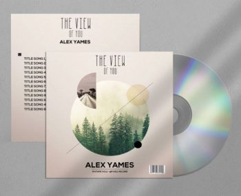 The View Free CD/Mixtape Cover Template (PSD)