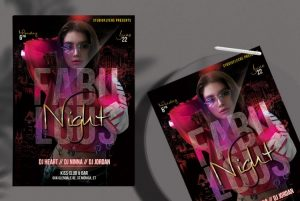 Vibe Party Free DJ Flyer Template (PSD)