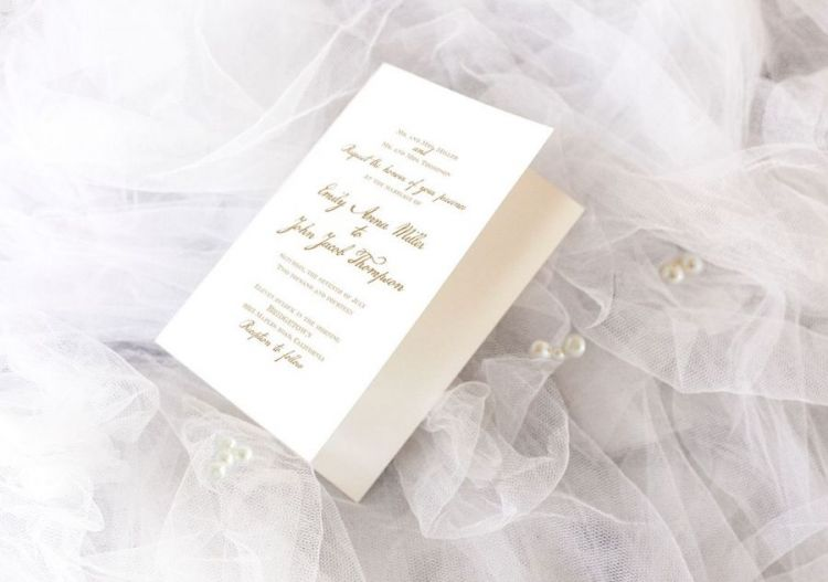 Astonishing Wedding Invitation Free Mockup
