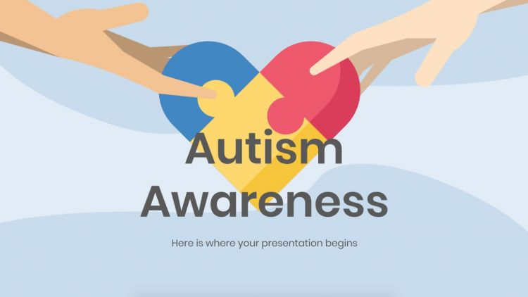 Autism Awareness - Free PowerPoint Template