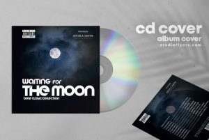 Balads Moon Free Mixtape CD Artwork Cover Template (PSD)