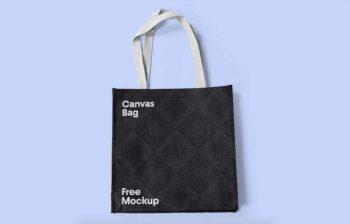 Canvas Bag Free Mockup (PSD)