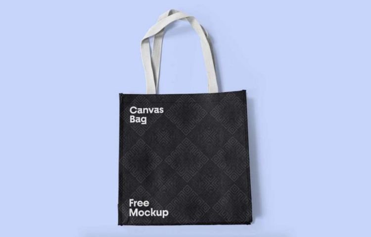 Canvas Bag Free Mockup (PSD)