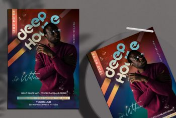 Club Party Vol3 Free Flyer Template (PSD)