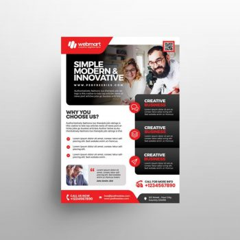 Corporate Ad - Free Business Flyer Template (PSD)