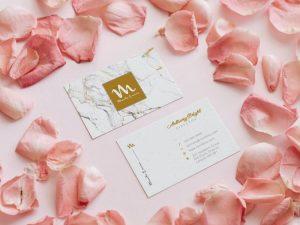 Elegant Business Card Free Mockup (PSD)