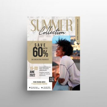 Fashion Boutique Free Flyer Template (PSD)