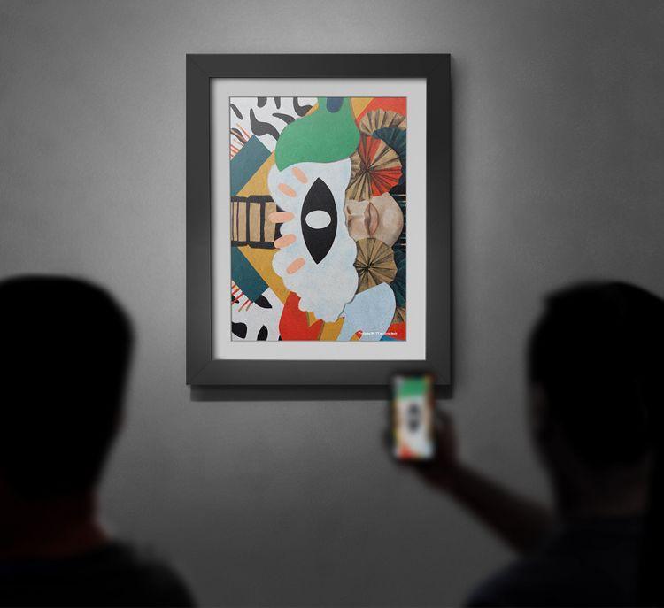 Free Art Gallery Poster Mockup (PSD)