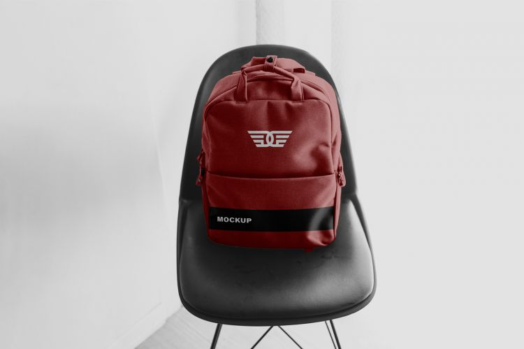 Free Backpack Apparel Mockup (PSD)