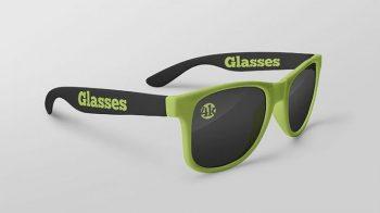 Free Glasses Mockups (PSD)