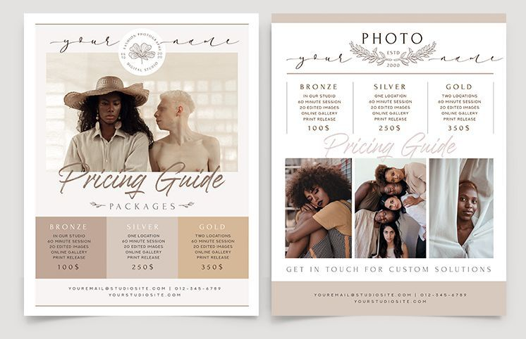 Free Photography Flyer Template (PSD)