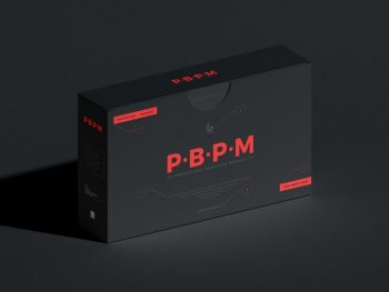 Free Product Box Packaging Mockup