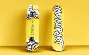 Free Skateboard Mockup (PSD)