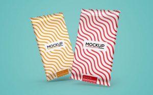 Free Snack Bar Mockup (PSD)