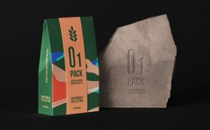 Herbal Bag Packaging Free Mockup (PSD)