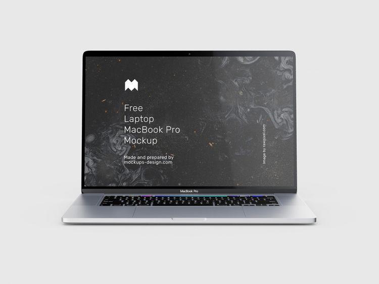 MacBook Pro Free Mockup (PSD)