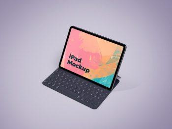Minimal iPad Screen Free Mockup