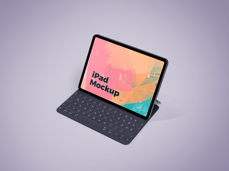 Minimal iPad Screen Free Mockup