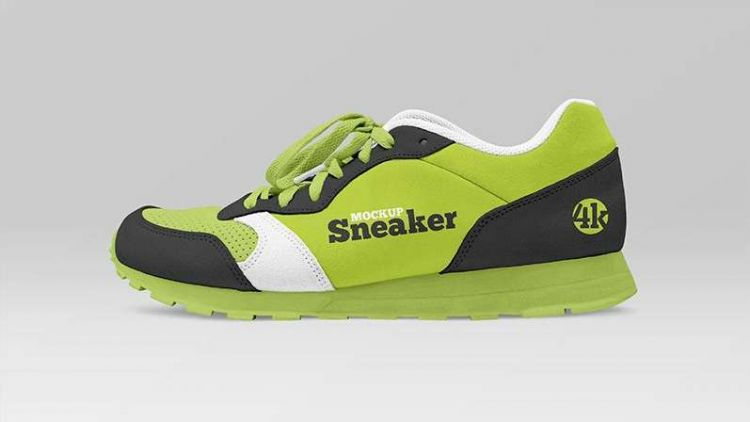 Sneaker Freebie Mockup