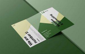 Tri-Fold Brochure Free Mockup