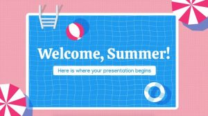 Welcome, Summer – Free PowerPoint Template