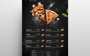 Special Offer Food - Free Flyer/Menu Template (PSD)