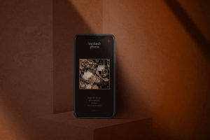 iPhone Dark Scene Free Mockup