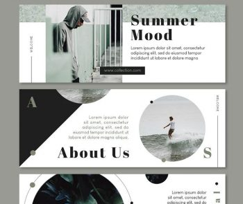 8 Modern Ad Facebook Covers Free PSD