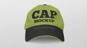 Free 2 Caps Mockup