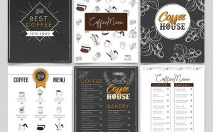 Free Coffee Menu Template (PSD)