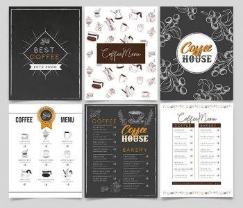 Free Coffee Menu Template (PSD)