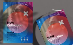 Free Fashion New Collection Flyer Template (PSD)