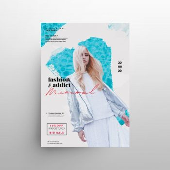 Free Fashion Summer Sale Flyer Template (PSD)