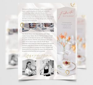 Free Restaurant Ad Free Flyer Template (PSD)