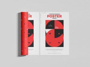 Free Stationery Flyer Mockup (PSD)