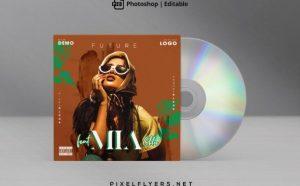 Future Beat Free Mixtape CD Artwork Cover Template (PSD)